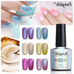 FairyGlo UV LED Shell Pearl Gel Nail Polish Soak Off Manicur
