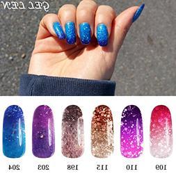 Gellen UV LED Temperature Color Changing Chameleon Gel Nail