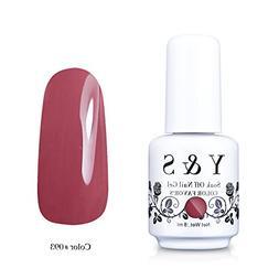 Yaoshun Gel polish, Soak-off  UV LED Nail Art Gel polish 8ml